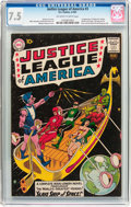 Silver Age (1956-1969):Superhero, Justice League of America #3 (DC, 1961) CGC VF- 7.5 Off-white to white pages....