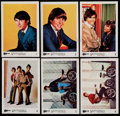 "Non-Sport Cards:Sets, 1967 A&BC Gum ""Monkees"" Color Series Complete Set (55)...."