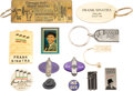 Movie/TV Memorabilia:Memorabilia, A Frank Sinatra Group of Tchotchkes, 1950s-1990s.... (Total: 4 )