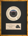 "Music Memorabilia:Awards, Ray Parker Jr. ""Ghostbusters"" In-House Gold Record Sales Award(Arista AS 1-9212, 1984)...."