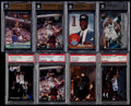 Basketball Cards:Lots, 1992-97 Basketball Graded Card Collection (8)....