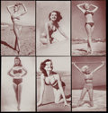 "Non-Sport Cards:Lots, 1950's Exhibits ""Bikini Bathers"" Collection (49). ..."