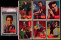 Non-Sport Cards:Sets, 1956 Topps Elvis Presley High End Partial Set (27/66). ...