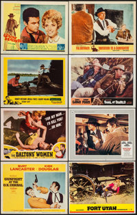 "Western Lobby Card Box Lot (Various, 1940s-1980s). Lobby Cards (542) (11"" X 14""). Western. ... (Total: 542 Ite..."
