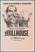 """Movie Posters:Documentary, Millhouse & Other Lot (New Yorker Films, 1971). One Sheet (27"""" X 41""""), Photos (2) (8"""" X 10""""), & Presskit (9"""" X 12"""") . Docume... (Total: 4 Items)"""
