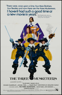 """The Three Musketeers & Other Lot (20th Century Fox, 1974). One Sheets (6) (27"""" X 41""""), Color Photos (8) (8..."""