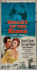 """Movie Posters:Adventure, Valley of the Kings (MGM, 1954). Three Sheet (41"""" X 79""""). Adventure.. ..."""