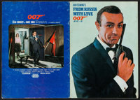 "From Russia with Love (United Artists, 1964). Japanese Program (24 Pages, 8.25"" X 11.5) & French Presskit (11.5..."