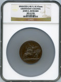 Betts Medals, Undated (1846-60) John E. Howard Mint Medal, Betts-595, MS63 BrownNGC....