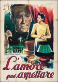"Movie Posters:Drama, Mr. Ace (Fincine, 1946). Italian 2 - Fogli (39.25"" X 55""). Drama.. ..."