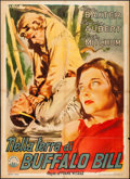 "Movie Posters:Action, The Prairie (Capital Pictures, 1949). Italian 2 - Fogli (38.5"" X53.25""). Action.. ..."