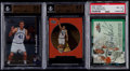 Basketball Cards:Lots, 1998-2000 Dirk Nowitzki Graded Collection Trio (3) WithAutograph....