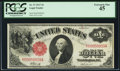 Fr. 37 $1 1917 Legal Tender PCGS Extremely Fine 45