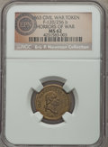 Civil War Patriotics, 1863 Horrors of War Civil War Patriotic, Fuld 120/256b, R.6, MS62NGC. ...