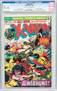 X-Men #95 (Marvel, 1975) CGC NM 9.4 Off-white to white pages