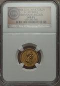 Civil War Patriotics, 1864 Abraham Lincoln Civil War Patriotic, Fuld 129/349b, R.9, MS65NGC. ...