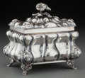 Silver Holloware, Continental:Holloware, An Israeli Silver and Partial Gilt Etrog Box, late 20th century.Marks: STERLING 925, MADE IN ISRAEL. 5-3/4 inches high ...