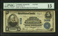 National Bank Notes:Kentucky, Lexington, KY - $5 1902 Plain Back Fr. 601 Phoenix NB & TC Ch.# 3052. ...