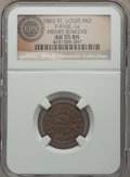 Civil War Merchants, 1863 Henry Jenkins, St. Louis, MO, Fuld 910C-1a, R.4, AU55 NGC. ...