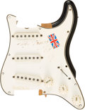 Music Memorabilia:Instruments , The Who - A Significant Piece of Pete Townshend's 1965 Stratocasteras Smashed on Stage in a 1968 Concert, also includes the C...(Total: 2 )