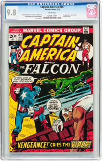 Captain America #157 (Marvel, 1973) CGC NM/MT 9.8 White pages