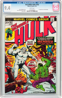 The Incredible Hulk #162 (Marvel, 1973) CGC NM 9.4 White pages