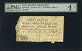 Colonial Notes:North Carolina, North Carolina March 9, 1754 26s 8d PMG Good 4 Net.. ...