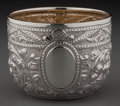 Silver Holloware, French:Holloware, A French Silver and Partial Gilt Repousse Cup, circa 1900. Marks:Effaced marks to underside. 2-1/2 inches high x 3-1/4 inch...