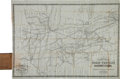 Books:Maps & Atlases, [Map]. D. B. Cooke & Co's Great Western Railway Guide.Exhibiting All Stations with Distances from Each Other. C...