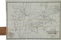 [Map]. D. B. Cooke & Co's Great Western Railway Guide. Exhibiting All Stations with Distance