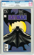 Modern Age (1980-Present):Superhero, Batman #405 (DC, 1987) CGC NM/MT 9.8 White pages....