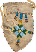 American Indian Art:Beadwork and Quillwork, Sioux Beaded Pouch. ...