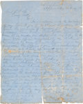 Miscellaneous, Period Fair Copy of General Ulysses S. Grant's Letter to GeneralRobert E. Lee...