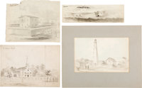 [Harper's] Original Civil War Sketches: Tybee Lighthouse and More