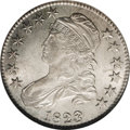 Bust Half Dollars: , 1823 50C Broken 3 MS62 NGC. O-101, R.3. This Guide Book diestate has a large, ungainly 3. The obverse die was later pa...