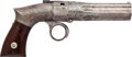 Handguns:Muzzle loading, Engraved Robbins & Lawrence Fluted Barrel Pepperbox....
