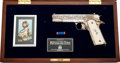 Handguns:Semiautomatic Pistol, Cased American Historical Foundation General George Patton Tribute M1911 Semi-Automatic Pistol....