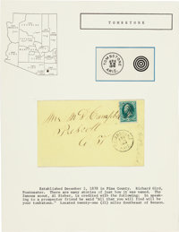 Tombstone, Arizona: Earliest Known Postal Cover