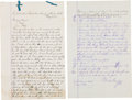 Miscellaneous:Ephemera, Graham County, Arizona: Two Documents Handwritten by Justice of thePeace.... (Total: 2 )