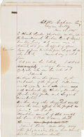 Miscellaneous:Ephemera, Graham County, Arizona: Coroner's Inquest Relating to Death of Prostitute....