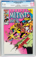 Modern Age (1980-Present):Superhero, New Mutants Annual #2 (Marvel, 1986) CGC NM+ 9.6 White pages....