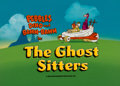 """Animation Art:Production Cel, The Flintstone Comedy Show """"The Ghost Sitters"""" Title CelSetup with Background (Hanna-Barbera, 1980).... (Total: 5 )"""