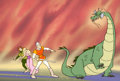 Animation Art:Production Cel, Dragon's Lair Bumper Cel (Don Bluth, 1984)....
