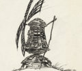 Animation Art:Production Drawing, The Old Mill Windmill Animation Drawing (Walt Disney,1937)....