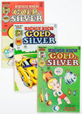 Bronze Age (1970-1979):Cartoon Character, Richie Rich Gold and Silver File Copies Box Lot (Harvey, 1975-82)Condition: Average NM-....