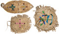 American Indian Art:Beadwork and Quillwork, Three Beaded Hide Pouches.... (Total: 3 Items)