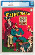 Golden Age (1938-1955):Superhero, Superman #35 (DC, 1945) CGC VF- 7.5 Cream to off-white pages....