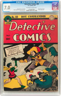 Golden Age (1938-1955):Superhero, Detective Comics #89 (DC, 1944) CGC FN/VF 7.0 Off-white to white pages....