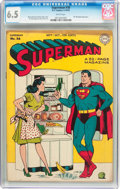 Golden Age (1938-1955):Superhero, Superman #36 (DC, 1945) CGC FN+ 6.5 White pages....