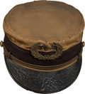Miscellaneous, Tombstone City Band: A Rare Cap from a Member's Uniform....